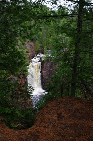 Brownstone Falls at Copper Falls Park
