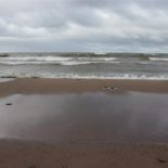 A windy, blustery day on Lake Superior.
