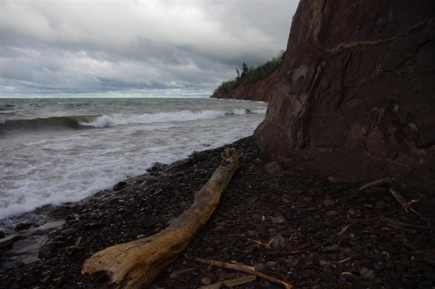 The Lake Superior coast.