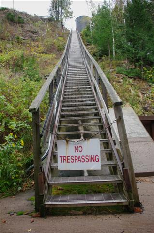 Not sure who would want to trespass here.