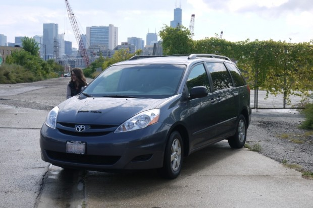 Rocky, our Toyota Sienna