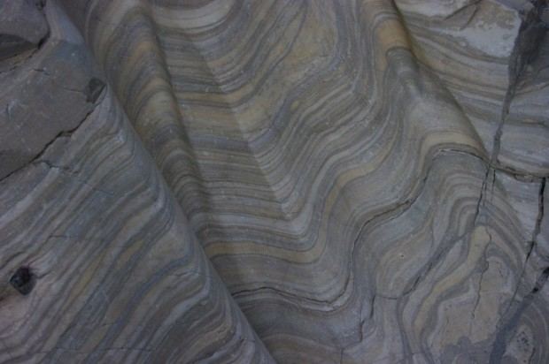 Rocks in Mosaic Canyon.