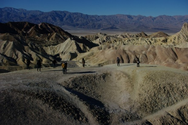 The view from Zabriskie Point.
