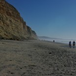 A great trail is one that starts with a 3/4 mile hike down the beach.
