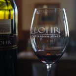 Tasting the Cab Sauv at J. Lohr.
