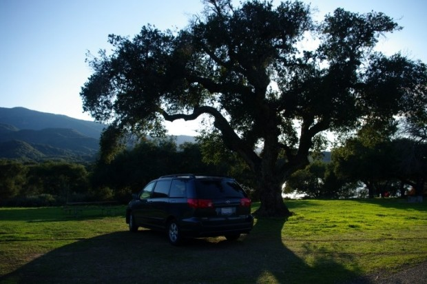 Nice camping at Lake Cachuma County Park.