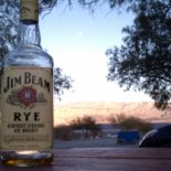 Jim Beam Rye, Death Valley.