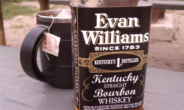 Drink cheap like Abbey -- get Evan Williams.