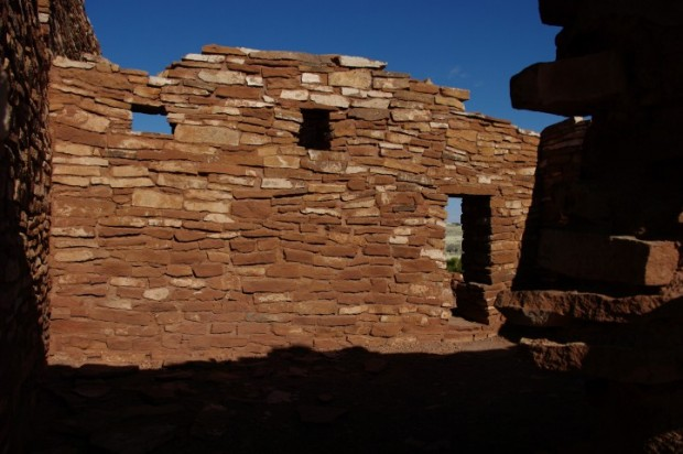 Ruins at Wupatki National Monument, near Flagstaff.