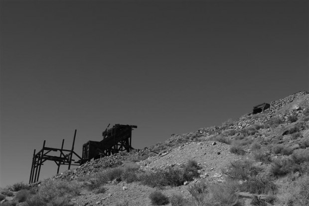 Eureka Mine, Death Valley.
