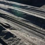 Glacial grooves on Kelleys Island.