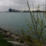 Downtown Detroit from Belle Isle.