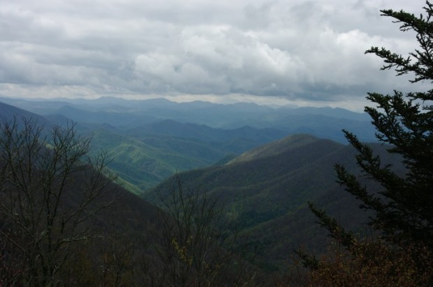 Some of the highest peaks in the Smokies.