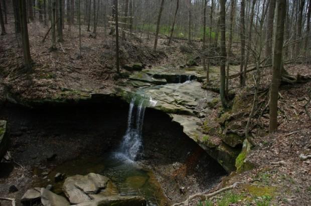 Blue Hen Falls.