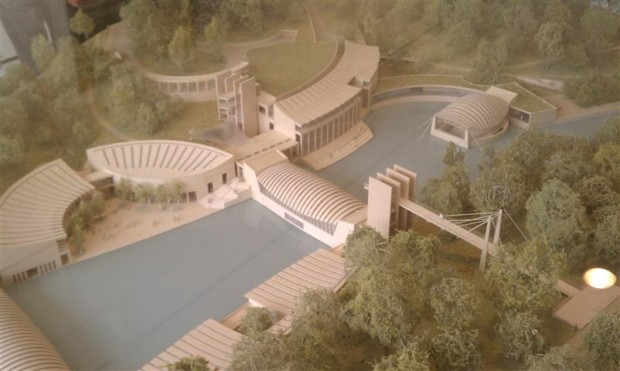 The architectural model.
