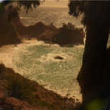 McWay Falls (shot through my sunglasses), Big Sur, California