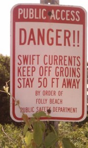 The Groins of Folly Beach. WTF?