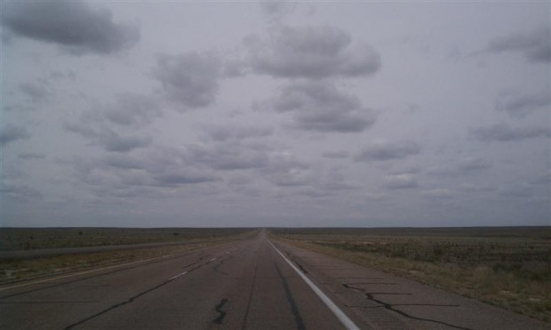 The roads around Roswell aren't super exciting. Watch out for UFOs.