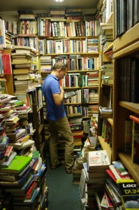 Browsing at Southwest Book Trader.