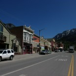 Ouray's main street.