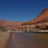 The Paria Beach on the Colorado River.