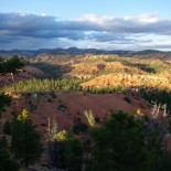 Red Canyon from the top of our hill.