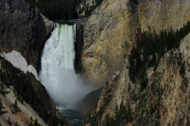 Beautiful, beautiful Lower Yellowstone Falls. Always an amazing sight.
