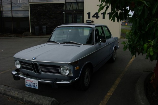 The BMW 2002. Paul wanted one of these.
