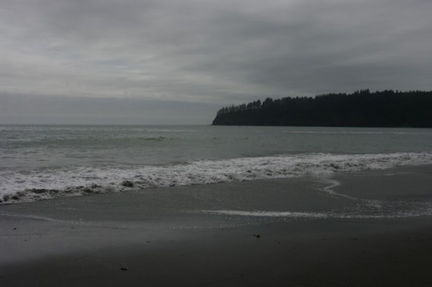 Third Beach, looking north.