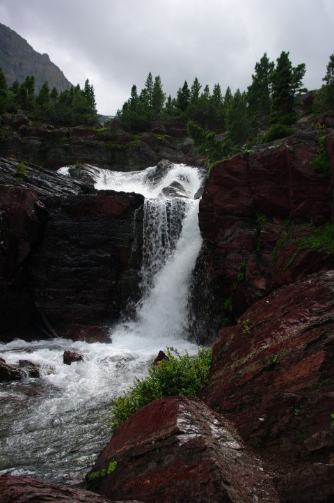 A section of Redrock Falls.