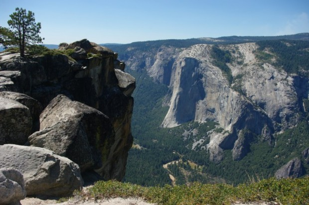 El Capitan from Taft Point.