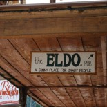 The Eldo is on the second floor. [LAM]