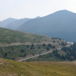 Road across Independence Pass. [LAM]
