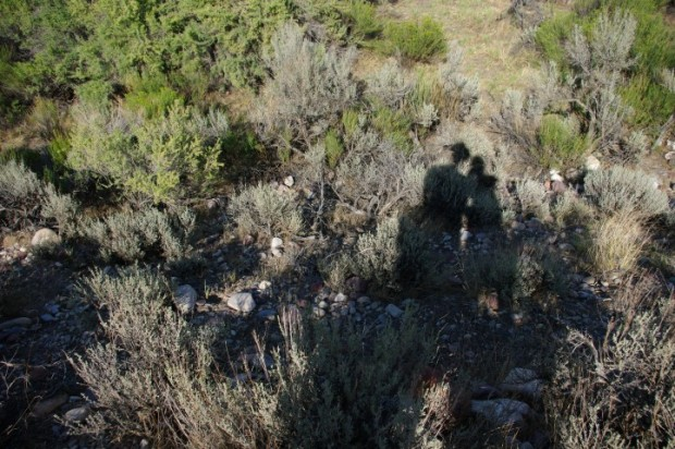 Us in the sagebrush.