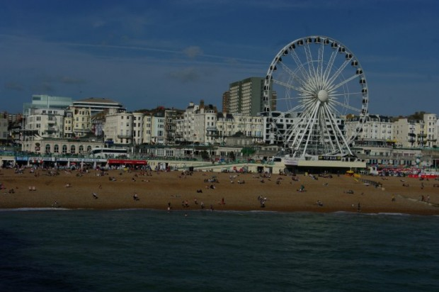Brighton from the Pier.