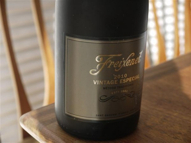 Freixenet 2010 Vintage Especial, on sale at Sainsbury's.