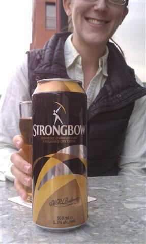 Cheers from Ottawa! Hooray for Strongbow!