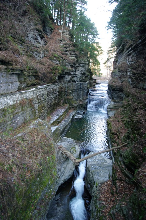 The upper gorge entrance.