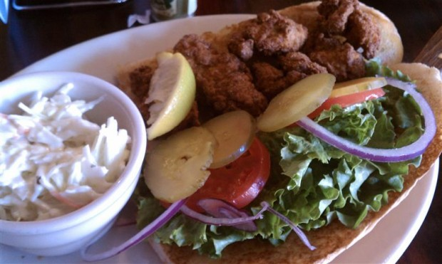 A tasty reason to visit La Crosse, Wisconsin -- authentic oyster po'boys at Buzzard Billy's.